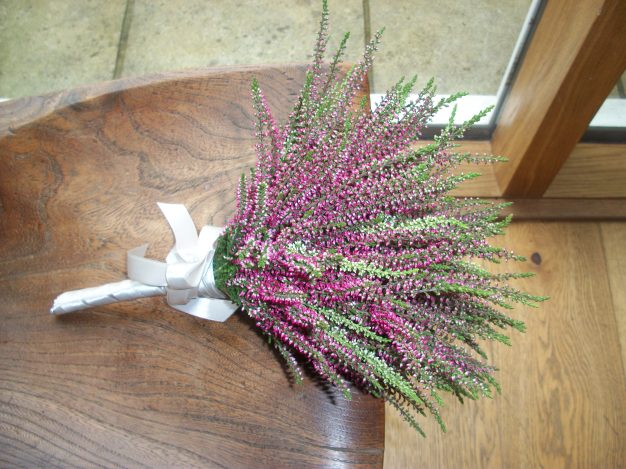 Rustic but pretty Heather